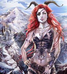Bad girl dragon by Venlian