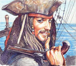 Captain Jack Sparrow by Venlian
