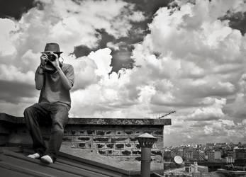 On the roof by NoPastForSkud