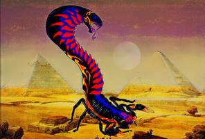 Vilenoc (The Venomous Terror) Monster 05 by Boogie209