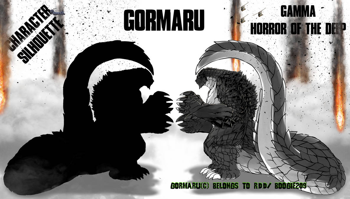 Gormaru Profile and Profile Silhouette by Boogie209