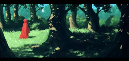 Redhood/ Paintstorm Studio by GeezyART