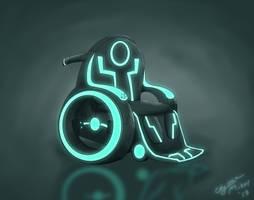 TRON wheelchair by Maiden-Chynna