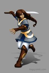 Lady Knight tagq by Maiden-Chynna