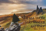 Not All Those Who Wander by slight-art-obsession