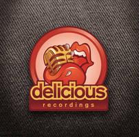 Delicious Recordings logo by Snakieball