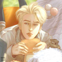 Young Forever: Jin by sammielieu
