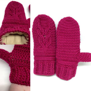 Cable Owl Mitts by Vivacia18