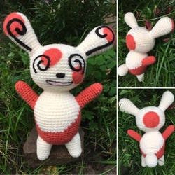 A Wild Spinda Appeared! by Vivacia18