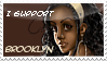 + I-support-Brooklyn stamp + by Sevenlole