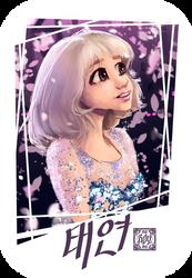 Taeyeon by Sevenlole