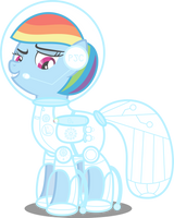 Ponies of the Future - Rainbow Dash by AtomicMillennial