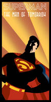 Superman Art Deco by rodolforever
