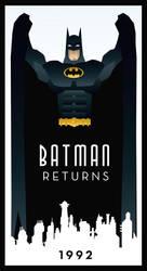 BATMAN RETURNS art deco by rodolforever