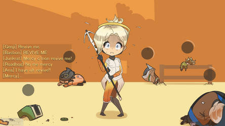 Mercy's 1 revive by Mckodem