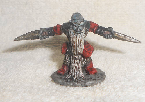 Dwarf Royal Weapomaster by jackleambrose