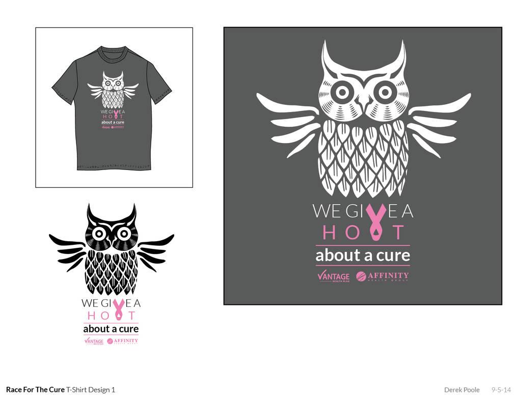 Race For The Cure T Shirt Design By Derekgpoole On Deviantart