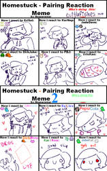 shipping reactions meme thingy by cuttlefishes