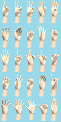 MMD Hand Pose Pack (DL in desc) by HihiKoala