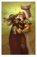 the KING of DWARVES by Guro