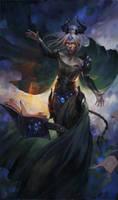 dark mage by Llyncis