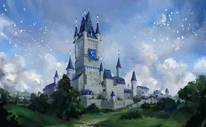 castle by Llyncis