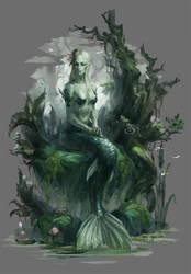 mermaid by Llyncis
