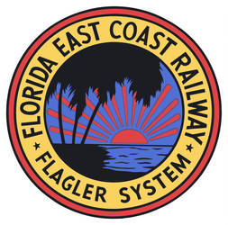 Flagler System - Florida East Coast Railway Logo by derErgi