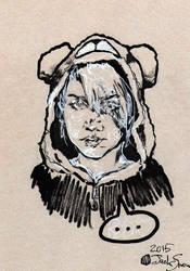 Swearing Bear by Jack-Snow