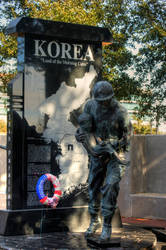 Korea Memorial by AnthonyMiller