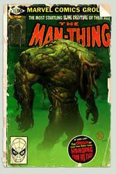 Man-Thing Comic by MattKaufenberg