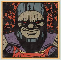Darkseid Commission by MattKaufenberg