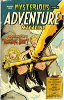 Mysterious Adventure Issue 4 by MattKaufenberg