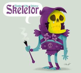 Skeletor by MattKaufenberg