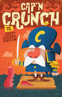 Cap'n Crunch vs Soggy Squid by MattKaufenberg