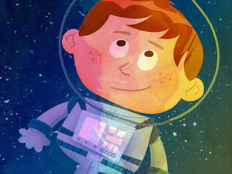 Abraham Lewis - Jr. Spaceman by MattKaufenberg