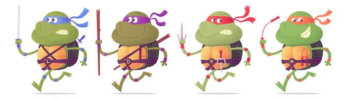 Turtle Power by MattKaufenberg
