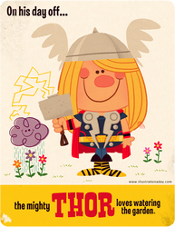 Thor's Day Off by MattKaufenberg
