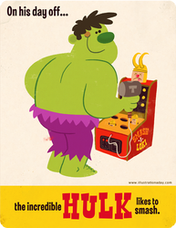 Hulk's Day Off by MattKaufenberg