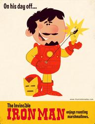 Iron Man's Day Off by MattKaufenberg