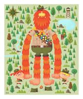 Sasquatch Troop by MattKaufenberg