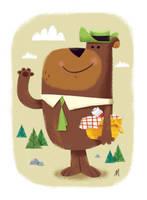 Yogi Bear by MattKaufenberg