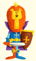 King Lionheart by MattKaufenberg