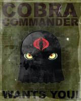 Cobra Commander Wants You by MattKaufenberg