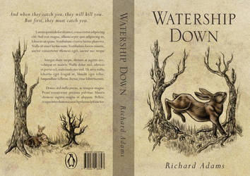 Watership Down Book Cover by Equal-Night