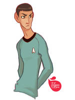 Mr. Spock by MeoMai