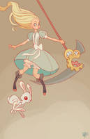 Alice in Wonderland by MeoMai