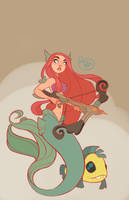 The Little Mermaid by MeoMai