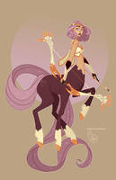 Character Design - Sagittarius by MeoMai