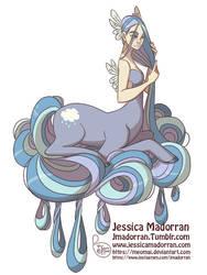 Character Design - Cloud Centaur by MeoMai